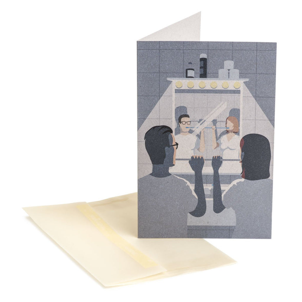 Love is sharing Greeting Card