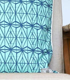 Love Lattice Green Pillow Cover