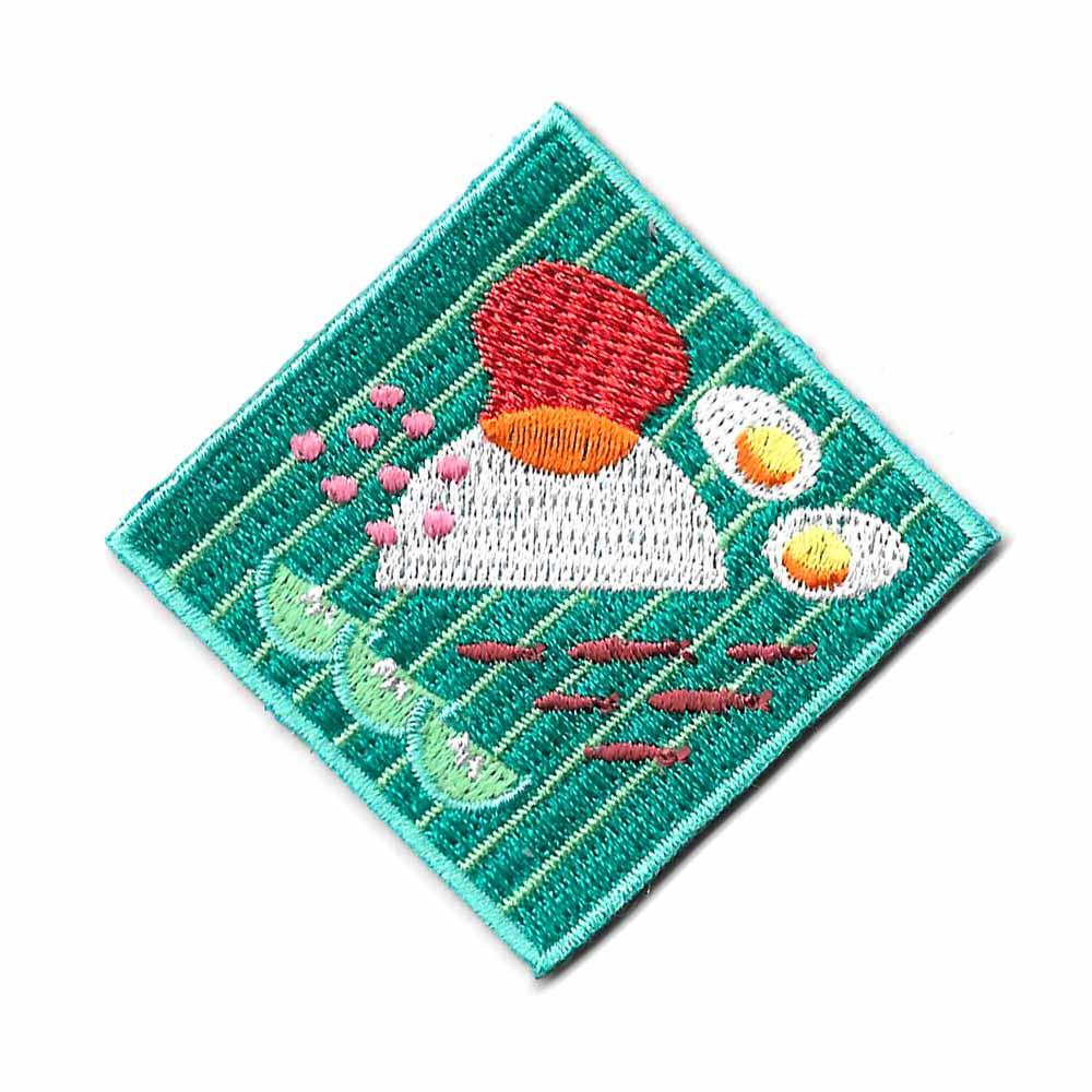 Nasi Lemak Iron On Patch