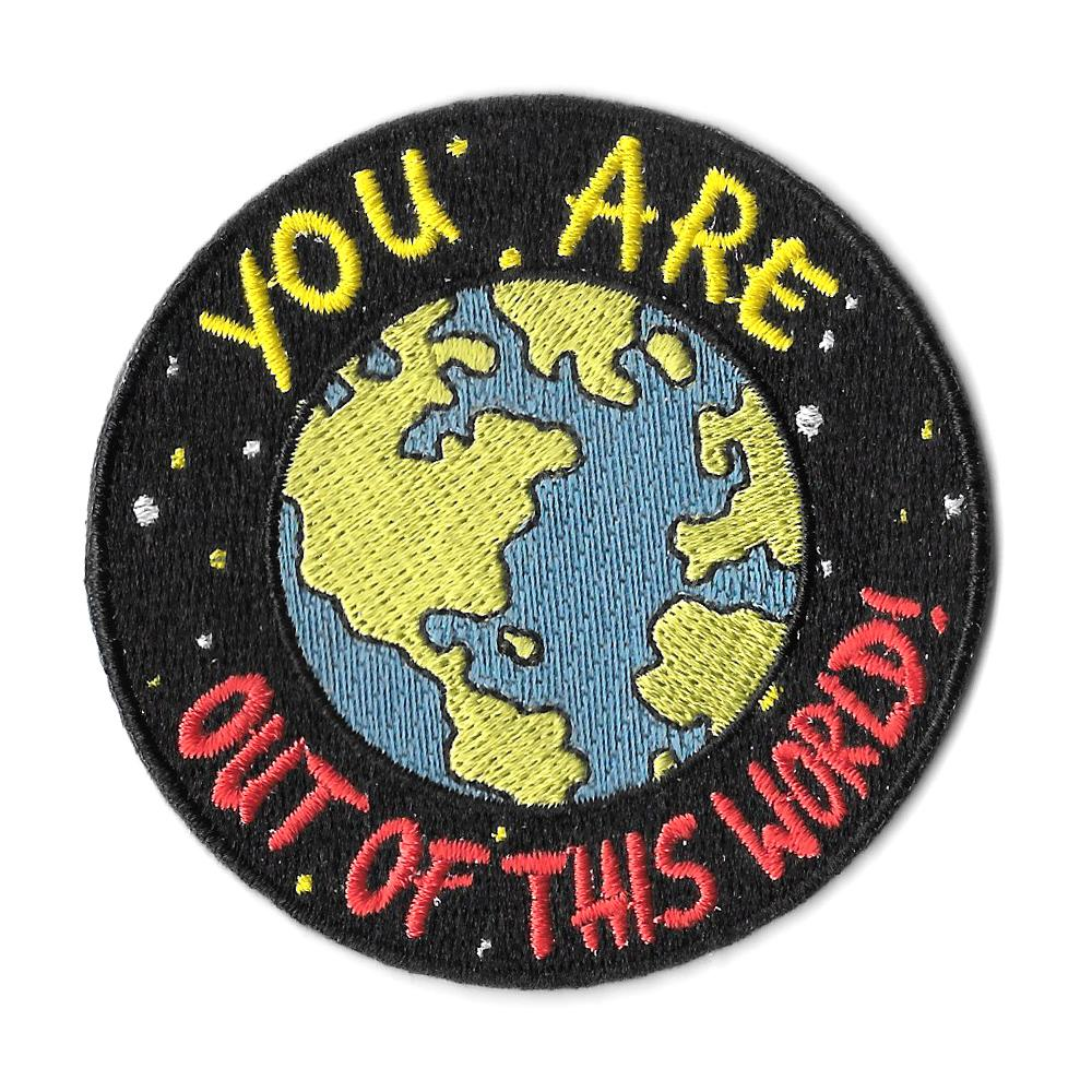 Out of this world Iron On Patch
