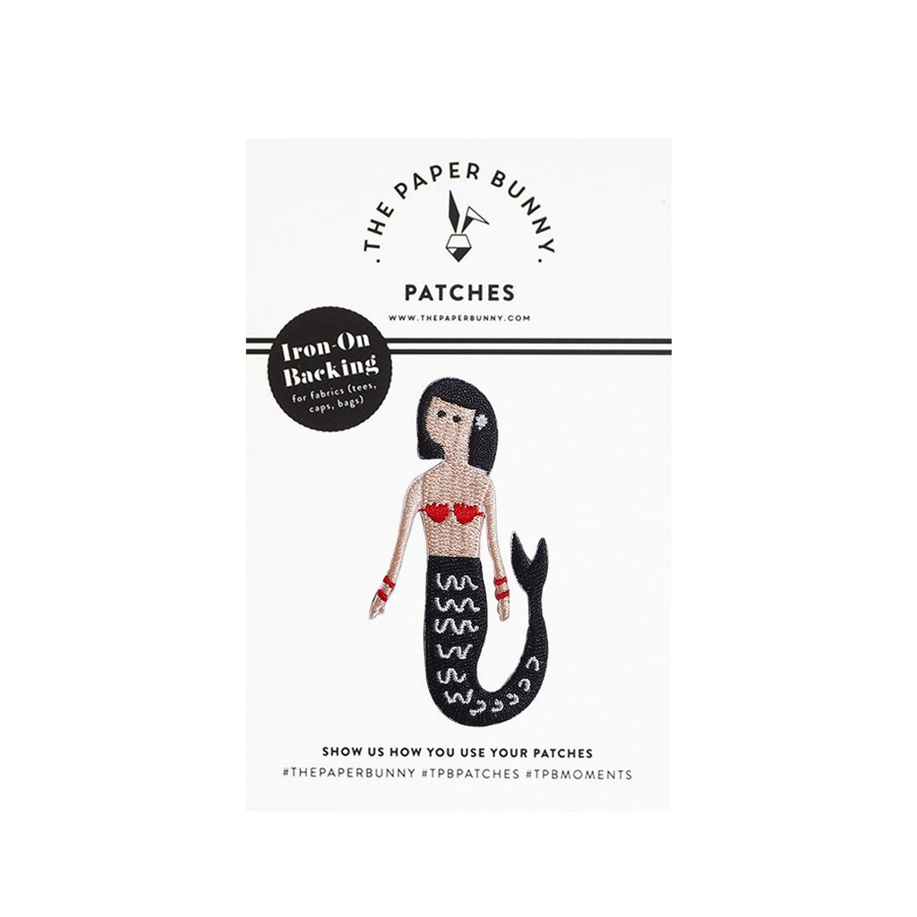 Scarlet the Mermaid Iron-On Patch