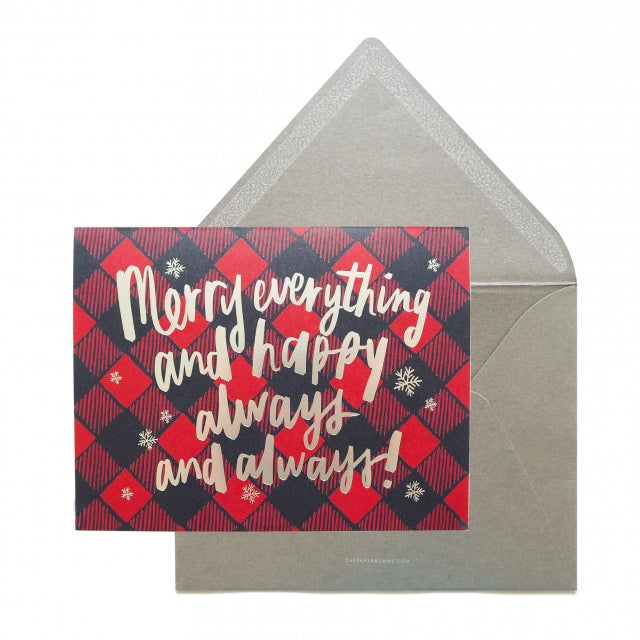 Merry Everything and Be Happy Card