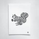 Prints - Squirrel