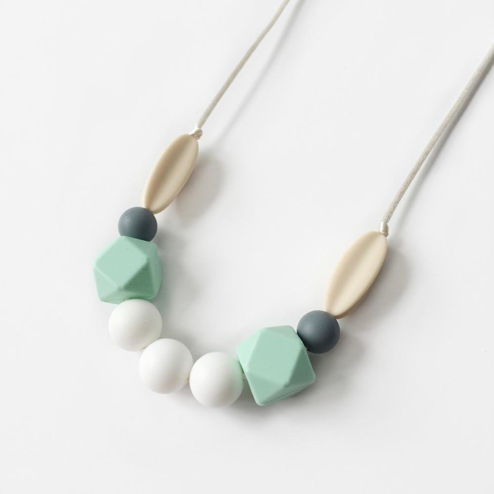 Sage Silicone Necklace - Mint