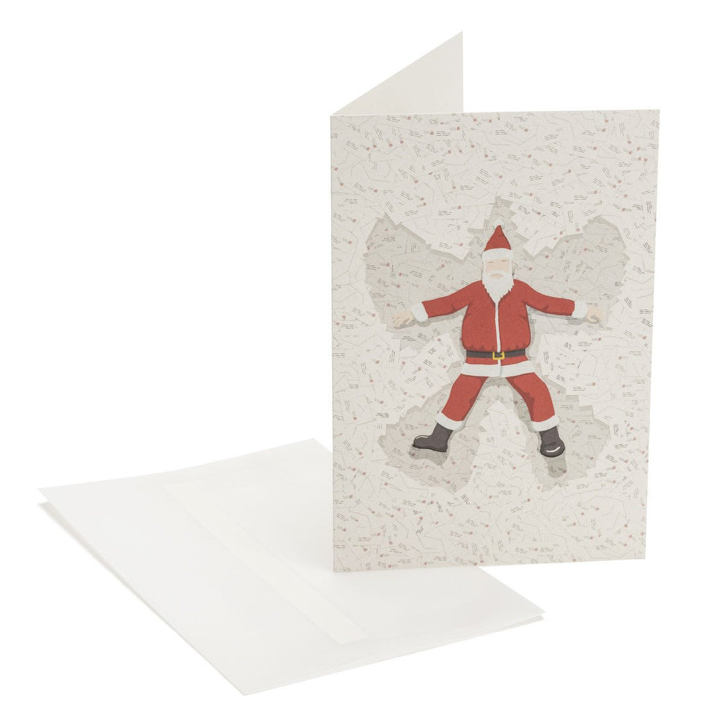 Santa's Angel Greeting Card