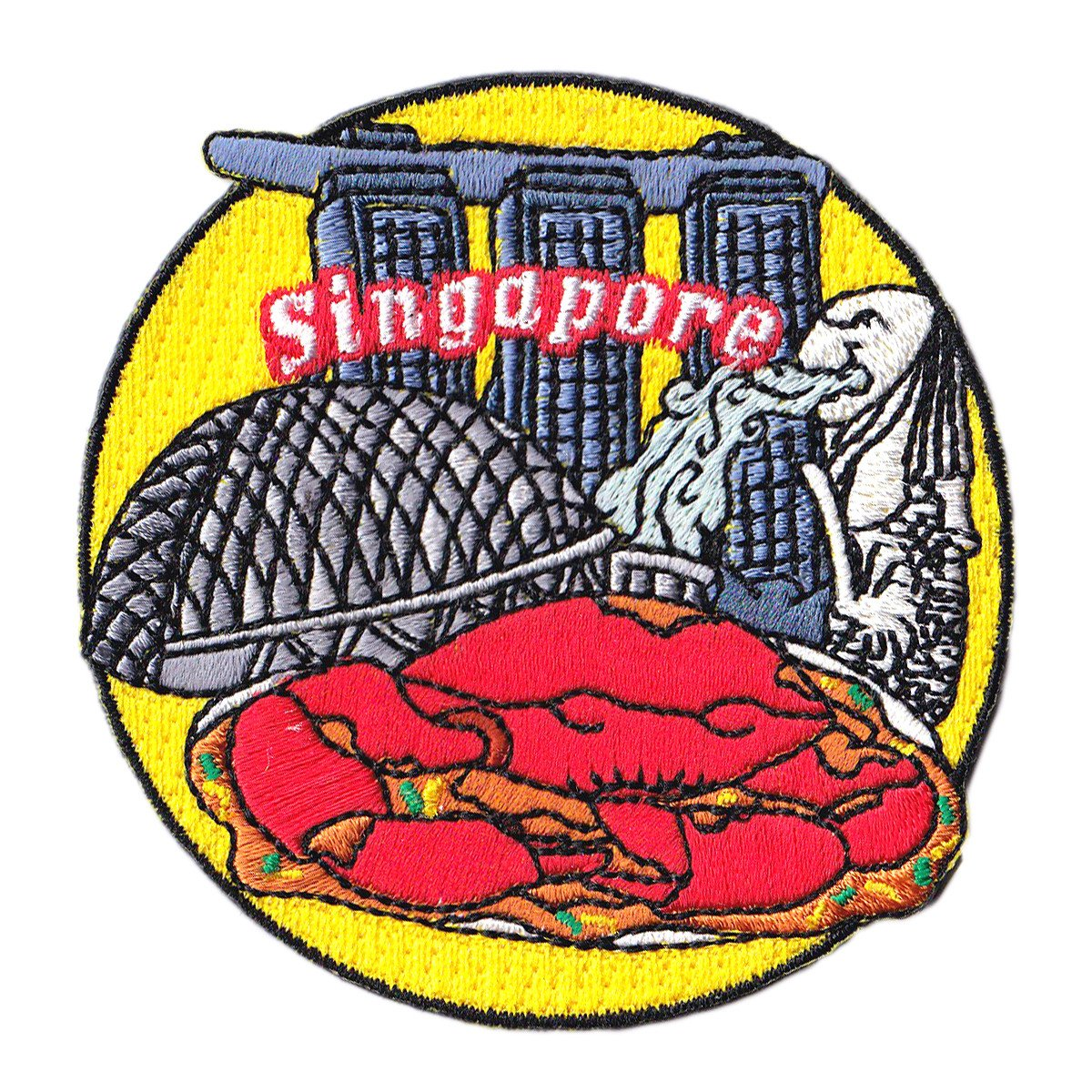 Singapore Patch Iron On Patch