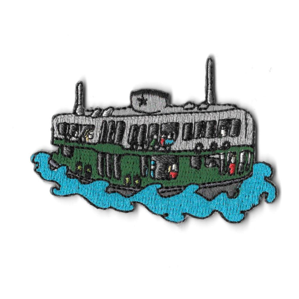 Hong Kong Star Ferry iron On Patch