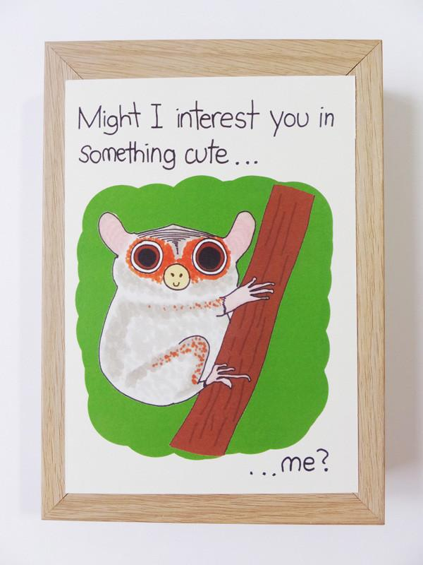 Tarsier - Something Cute Postcard