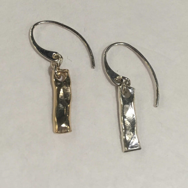 Hammered Antiochian Earring