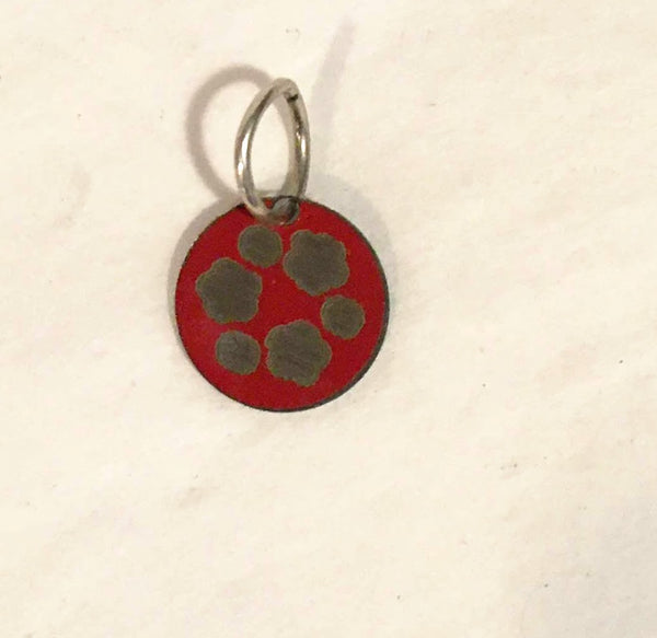 St. Paul's Red Logo Charm