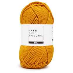 Yarn and Colors Epic - Mustard 015. Price $3.50