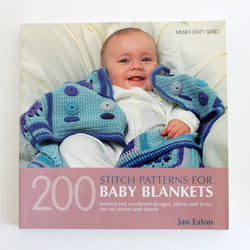 200 Stitch Patterns For Baby Blankets - Jan Eaton. Price $23.05