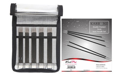 KnitPro Karbonz Double Pointed Needle Set - 15 cm. Price $75.00