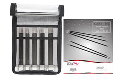 KnitPro Karbonz Double Pointed Needle Set - 20 cm. Price $90.00
