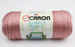 Caron Simply Soft - Victorian Rose. Price $7.00