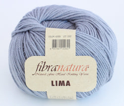 Fibra Natura Lima - Pale Grey 42029. Price $8.50
