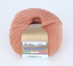 Filatura Di Crosa Nirvana - Rust 46. Price $6.00