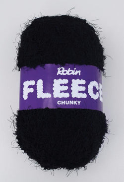 Robin Fleece Chunky - Black 4231. Price $5.30