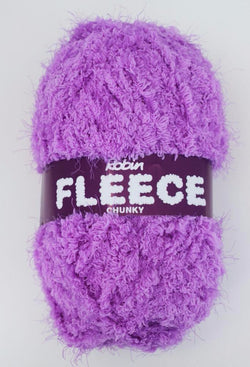 Robin Fleece Chunky - Purple 4224. Price $5.30