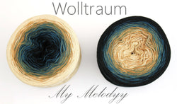 Wolltraum My Melodyy - Apache 4 Ply. Price $42.00