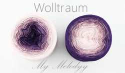 Wolltraum My Melodyy - Be My Baby - 4 Ply. Price $42.00