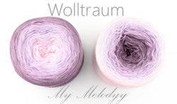 Wolltraum My Melodyy - Sarah - 4 Ply. Price $42.00