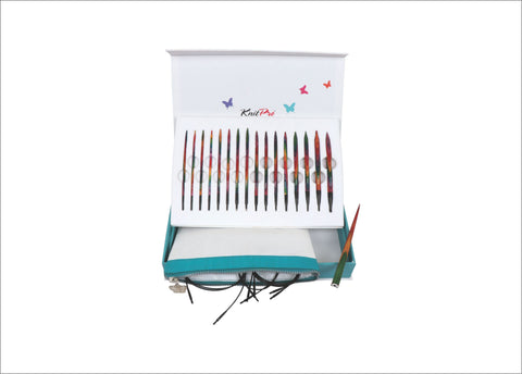 KnitPro Christmas 2017 Limited Edition Interchangeable Needle Set - Colours Of Life. Price $110.00