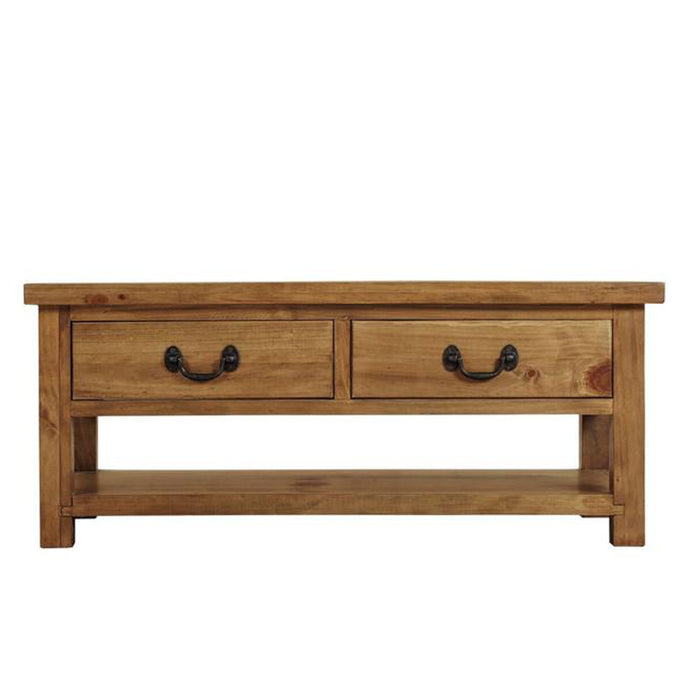 Athens 2 Drawer Coffee Table