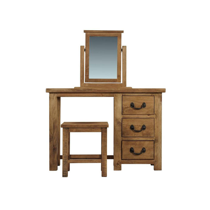 Athens 3 Drawer Dressing Table
