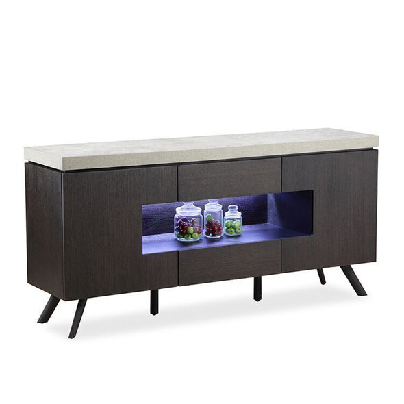 Concrete LED Sideboard