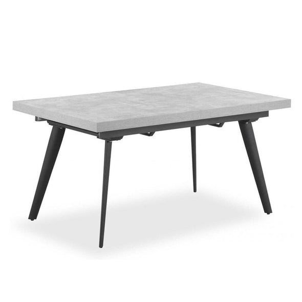 Concrete Extending Dining Table