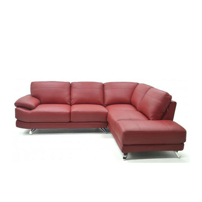 Berlin Large Leather Corner Sofa