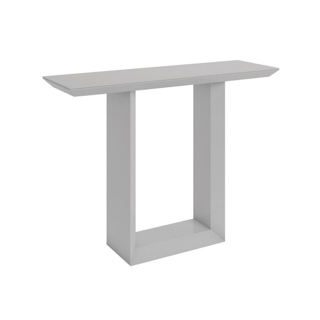 Elite High Gloss Console Table - Grey