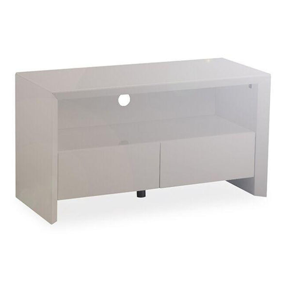 Elite High Gloss Small TV Unit - Grey