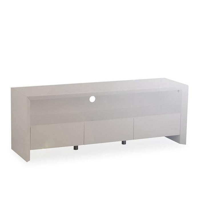 Elite High Gloss Large TV Unit - Grey