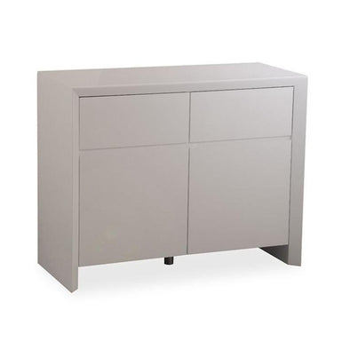 Elite High Gloss Medium Sideboard - Grey