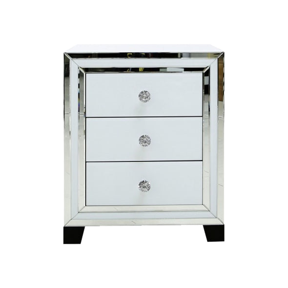 Liberty 3 Drawer Small Cabinet - White