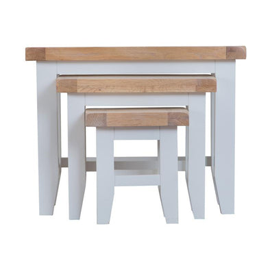 Toronto Nest of 3 Tables - Grey