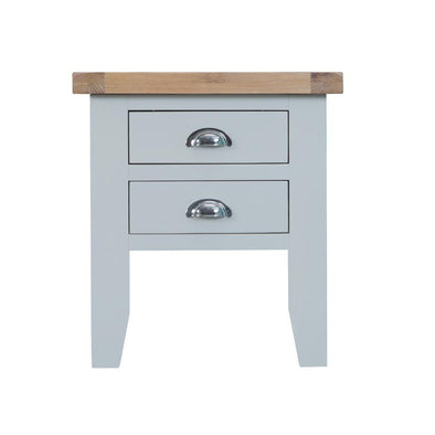 Toronto Lamp Table - Grey
