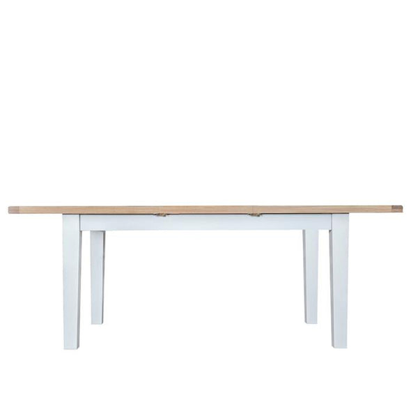 Toronto 1.6m Butterfly Extending Table - White