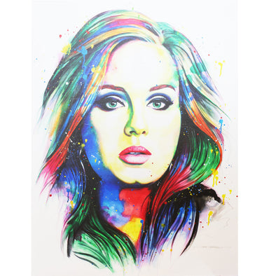 Adele Limited Edition Canvas