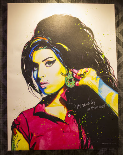 Amy Winehouse Limited Edition Canvas