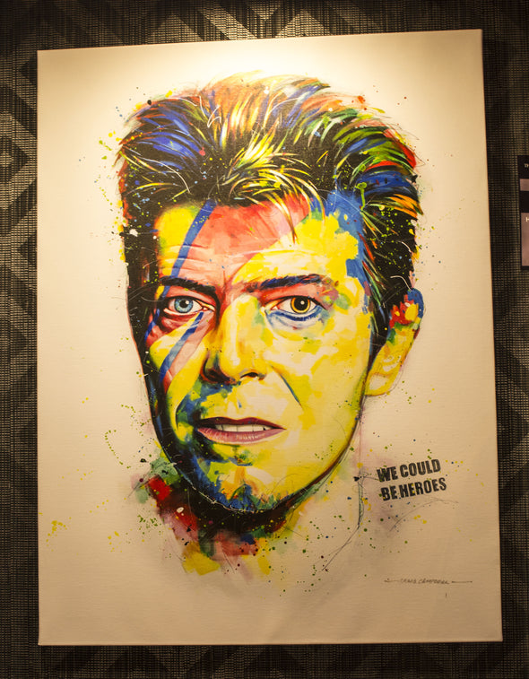 David Bowie Limited Edition Canvas