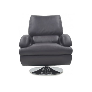 Charleston Swivel Leather Chair