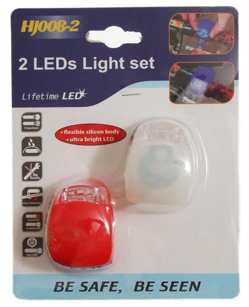 PACK 2 LUCES LED PARA BICICLETA