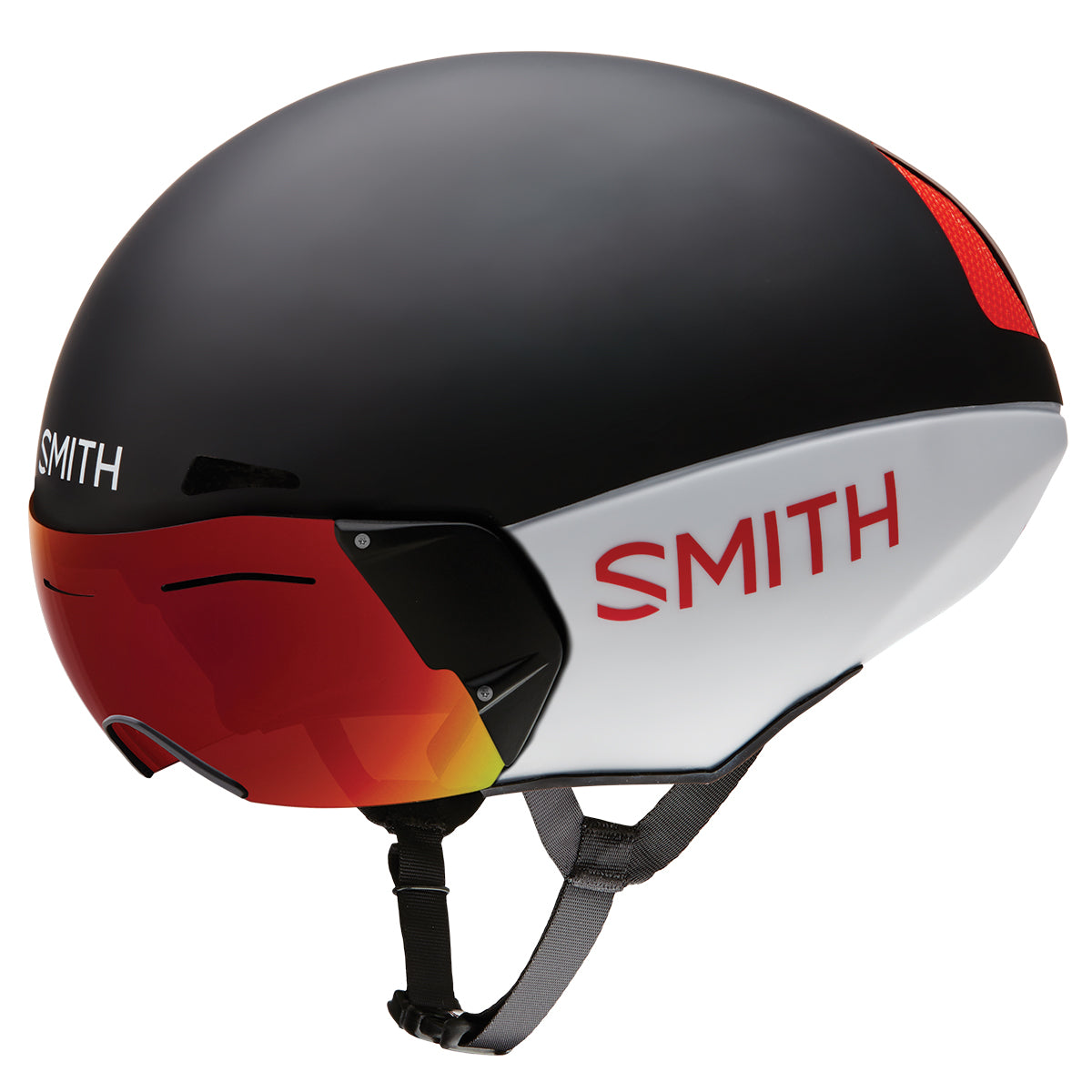 Casco Smith Podium TT Mips W/lens BK/WHT L