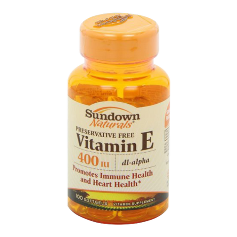 VITAMINA E400 (100 Soft Caps.)