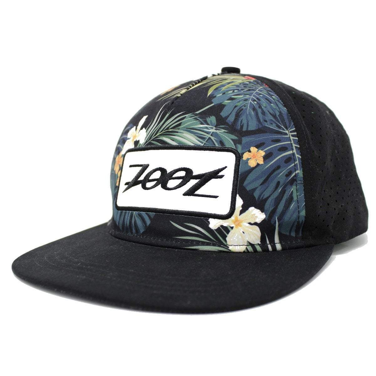 GORRA UNISEX TECH TRUCKER FLORAL FLAT BILL