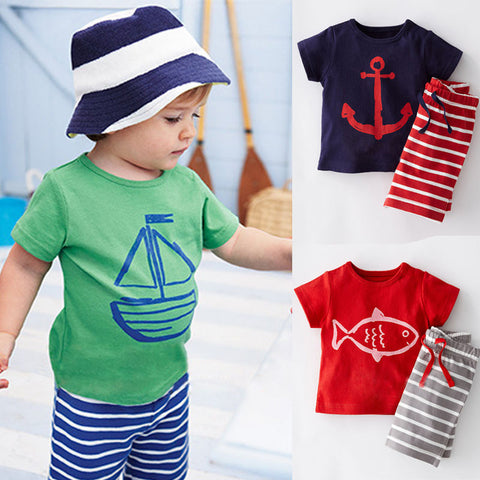 Baby Boys Summer Clothes Set