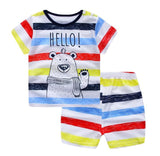 baby clothes in cute cartoons